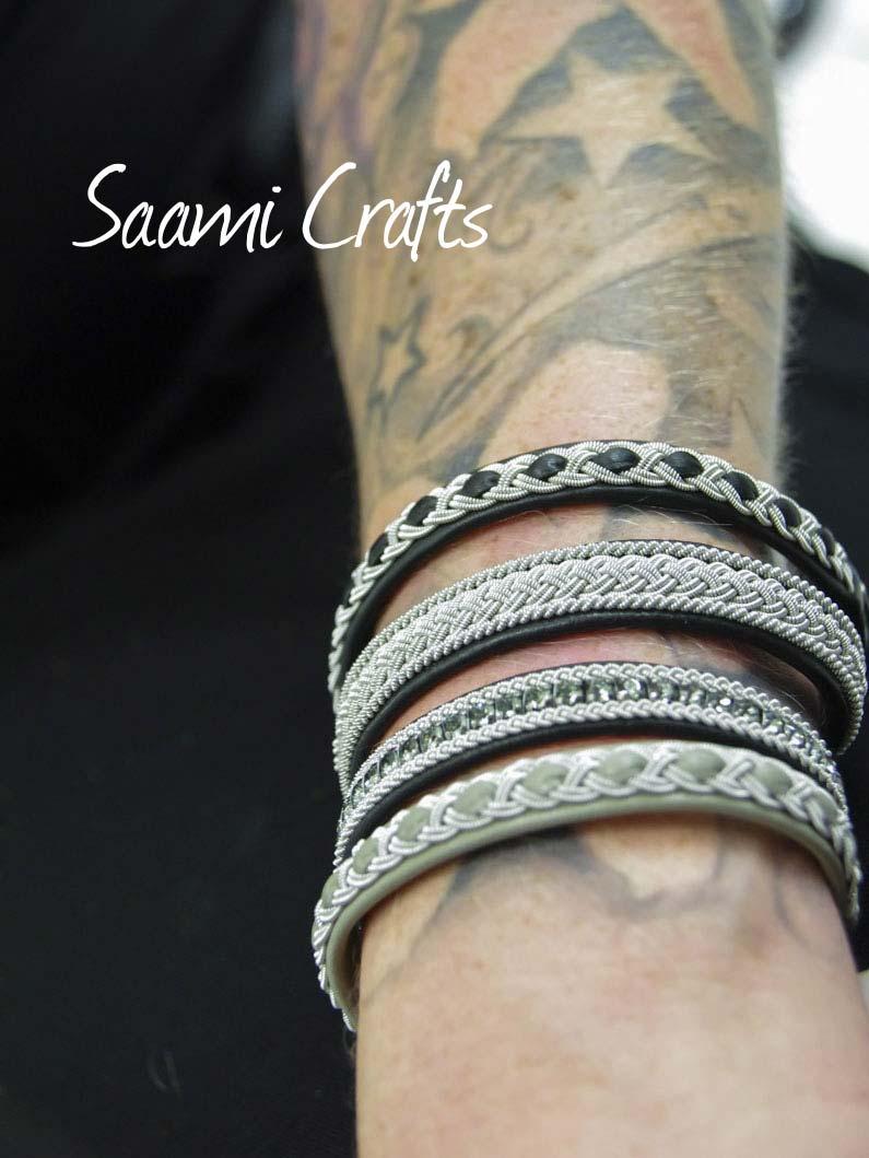 Saami Crafts, Schwedenarmbänder aus Leder bei Baltzer Moden Marburg
