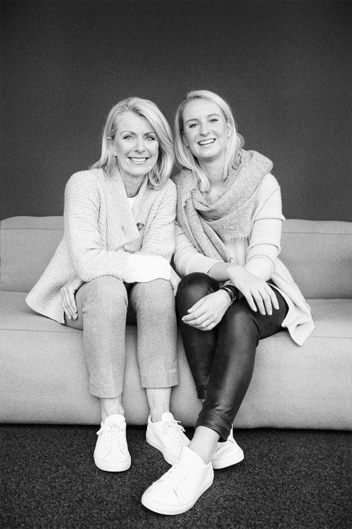 Katharina und Ellen Schwert, Gründerinnen von kaëll, natürliche waschmittel - neu bei Baltzer Moden Marburg